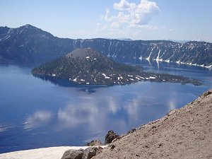 Crater Lake 1st view