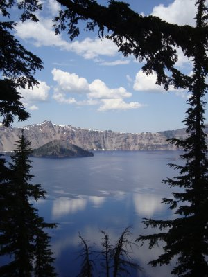 Sun Notch Trail at Crater Lake