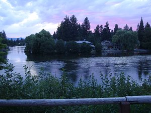 Drake Park Bend Oregon Sunset